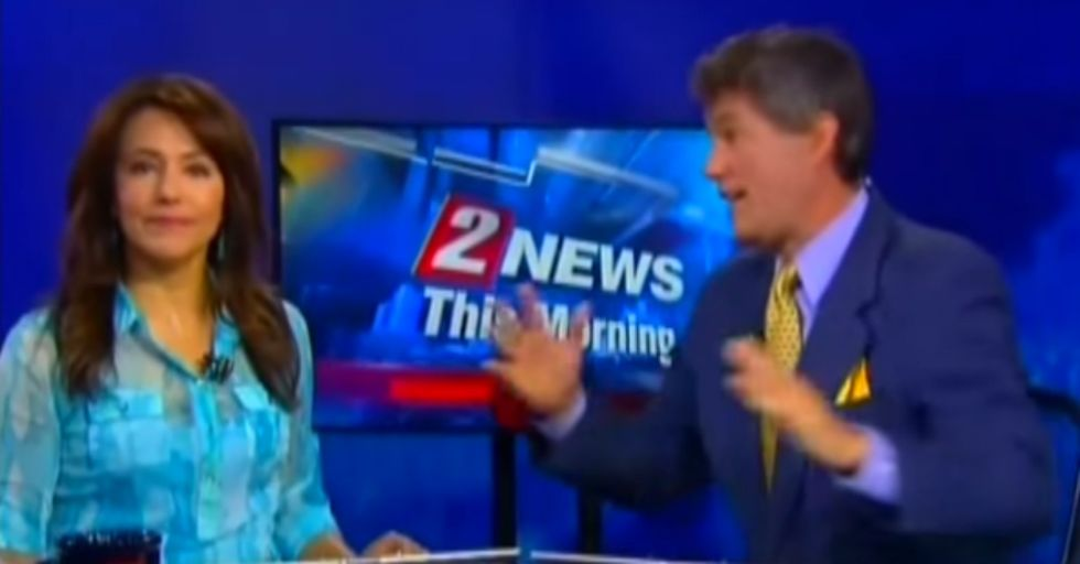 Newscaster Shares Bizarre Amazon Sex-Toy Conspiracy Theory on Live TV