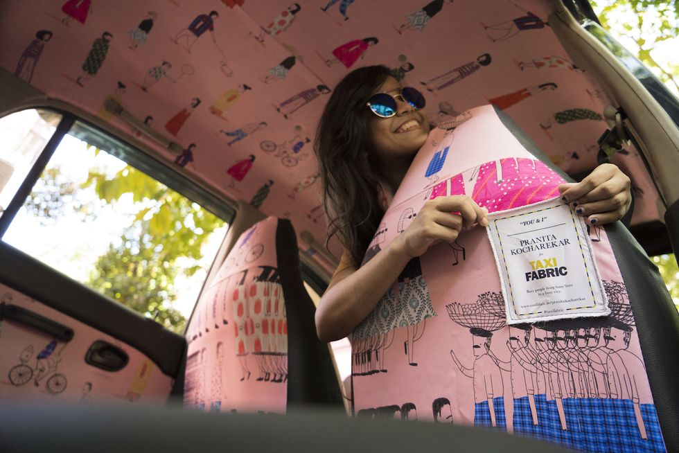 Colorful Cabs Hit the Streets of Mumbai, Giving Young Artists Their Big Break