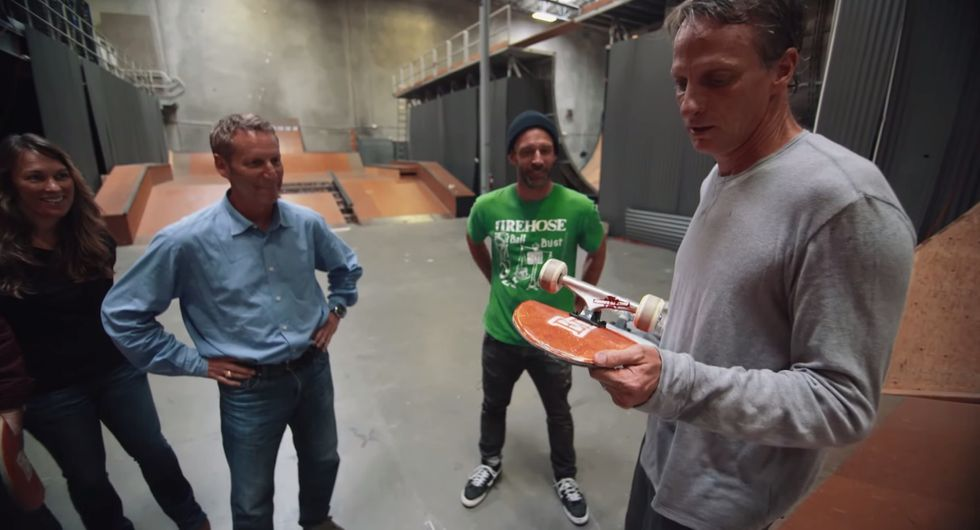 What Happens When a Pro Skater Rides a Board Made of Cardboard?