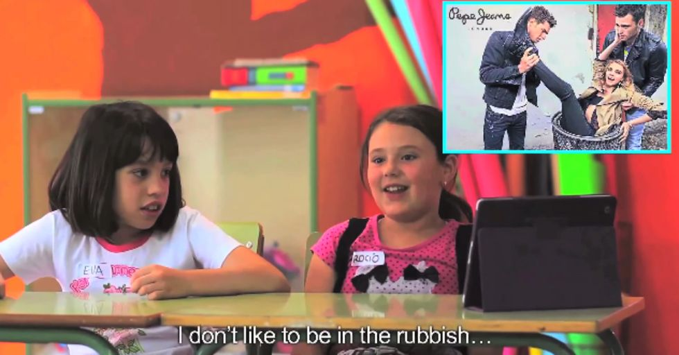 Kids Reacting to Fashion Ads is Kind of Funny. And Frightening.