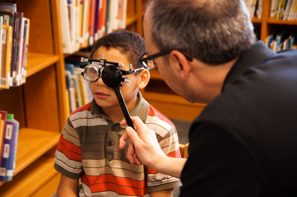 When Good Eyesight is a Privilege, Learning Suffers