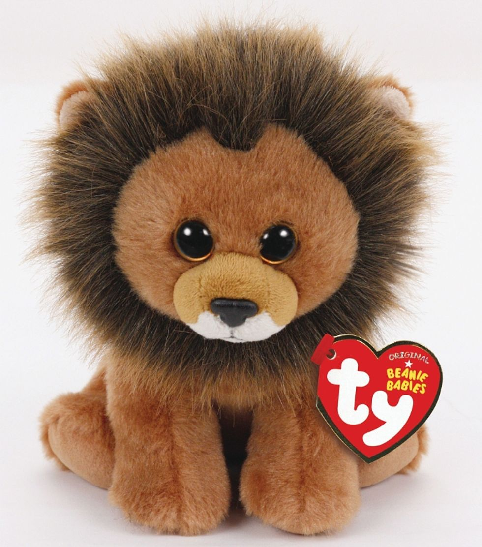 Cecil the Lion is Now a Beanie Baby for a Very Good Cause