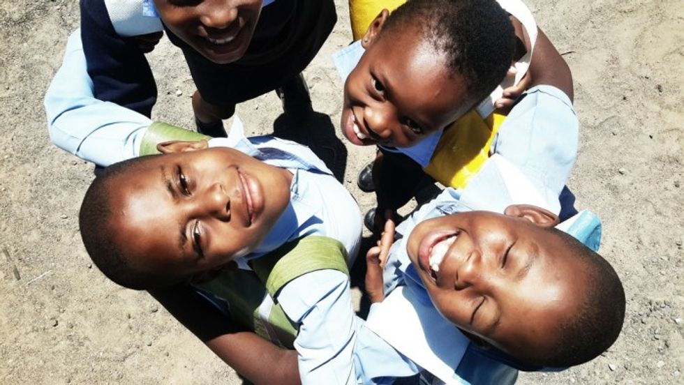 Solar-Powered Backpacks Bring Portable Light To South African Schoolchildren