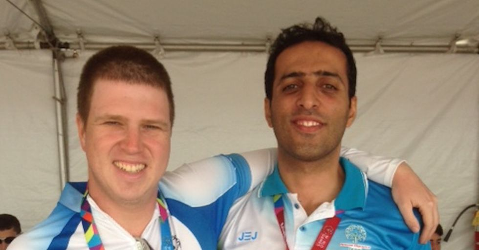 Iranian and Israeli Special Olympics Athletes Pose an Example for Sports Diplomacy