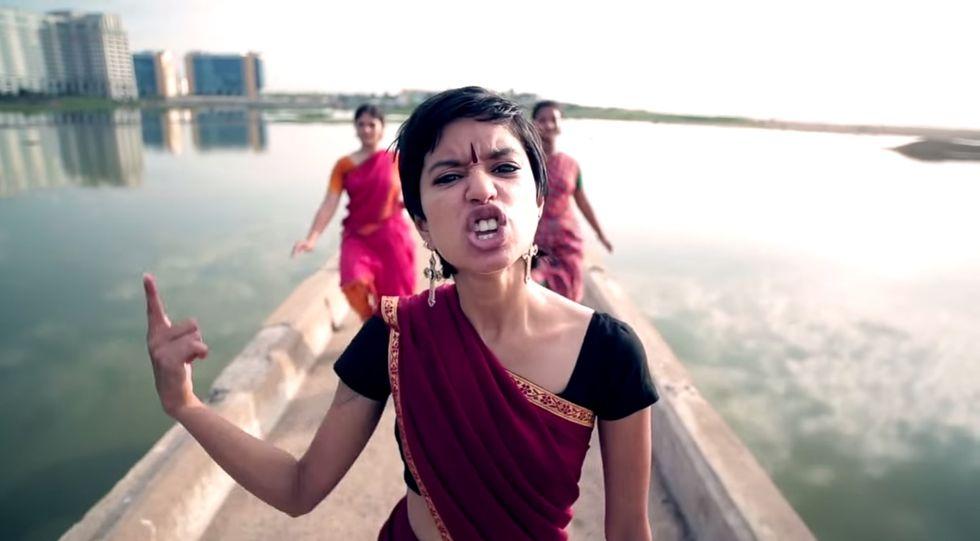 Check Out the Nicki Minaj-Inspired Environmental Anthem Rocking India