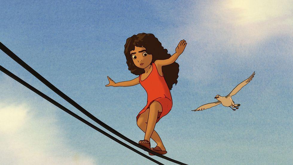 "Salma Hayek on Her New Children's Film: It's""A Tool For Hope"""
