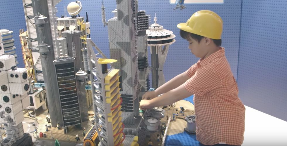 Here's What Happens When LEGO Asks Six-Year-Olds to Imagine the Singapore of the Future
