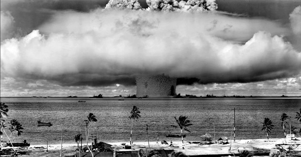 Every Nuclear Bomb Detonation from 1945 to 1998