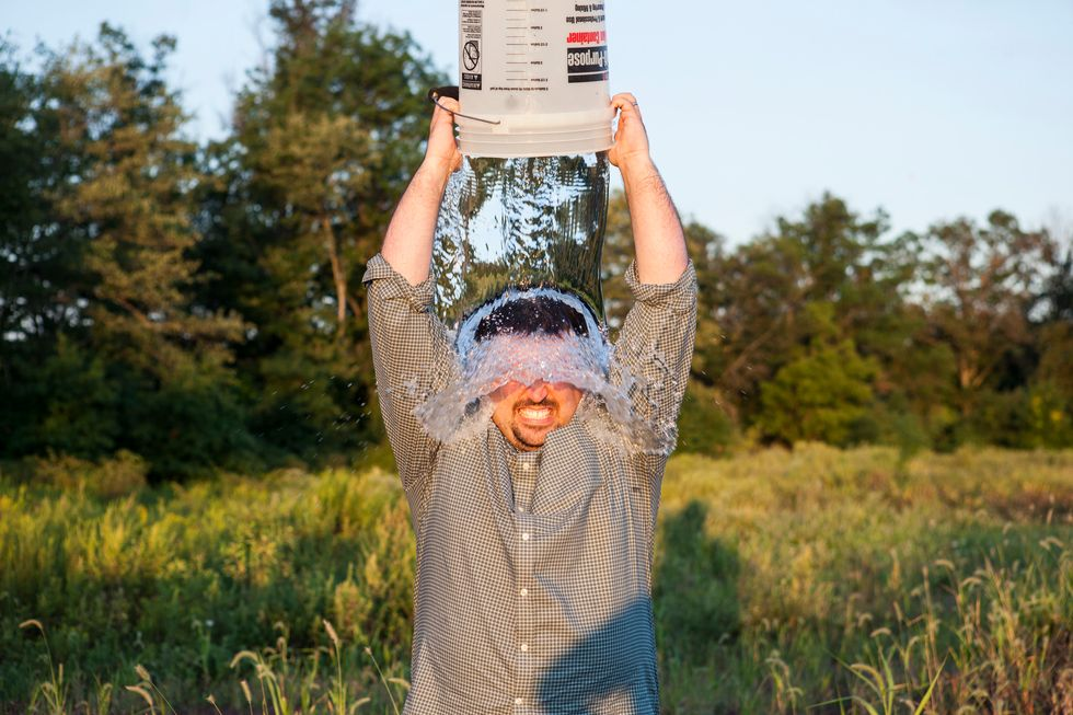 One Year Later, There's Some Great News About the ALS Ice Bucket Challenge