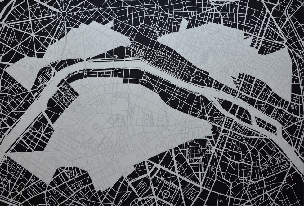 Intricate, Hand-Crafted, Paper-Cut Maps Expose Familiar Cities' Hidden Treasures