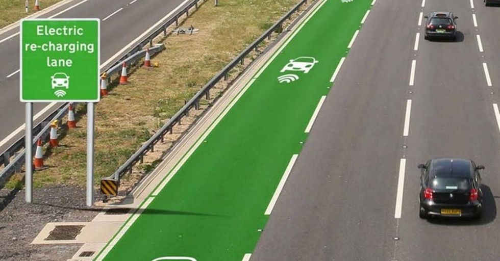 UK Testing Roads That Charge Your Car While You Drive