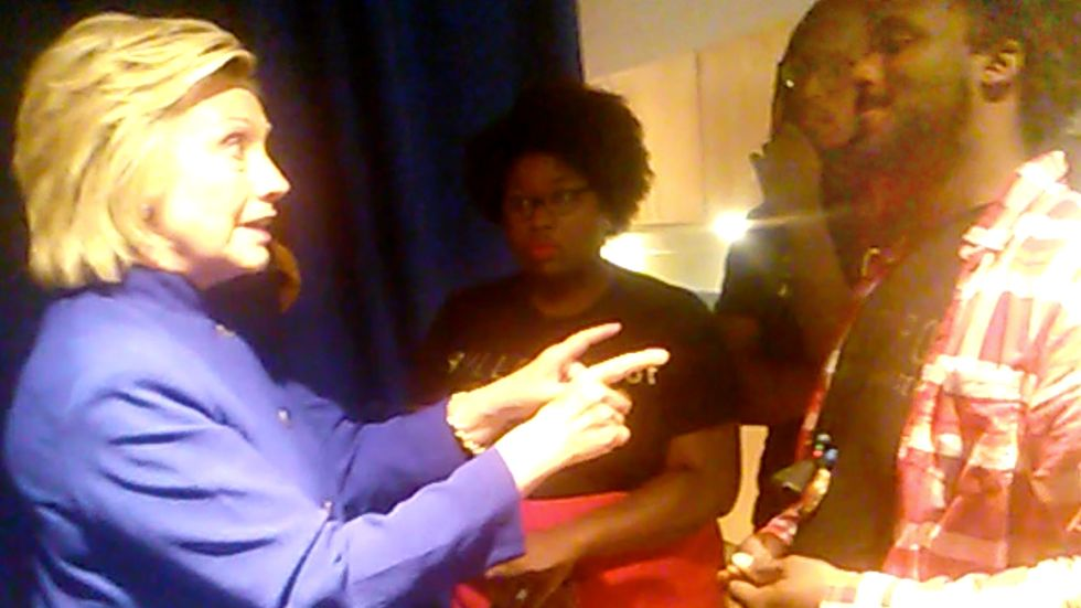 Hillary Clinton to #BlackLivesMatter in Video, 'I Don't Believe You Change Hearts...'