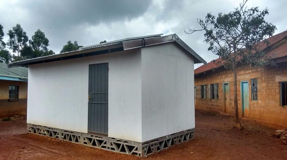 """Every County in Kenya is About to Receive One of These Amazing """"Solar Classrooms in a Box"""""""