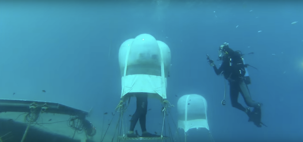 Are These Strange Underwater Balloons the Future of Sustainable Farming?