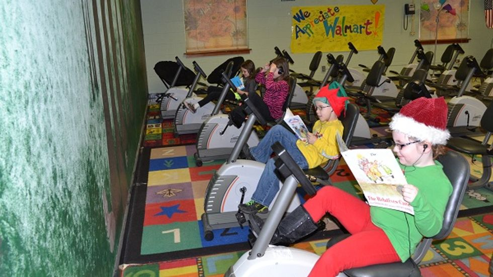 This School Gets Kids to Read—By Giving Them a Bike