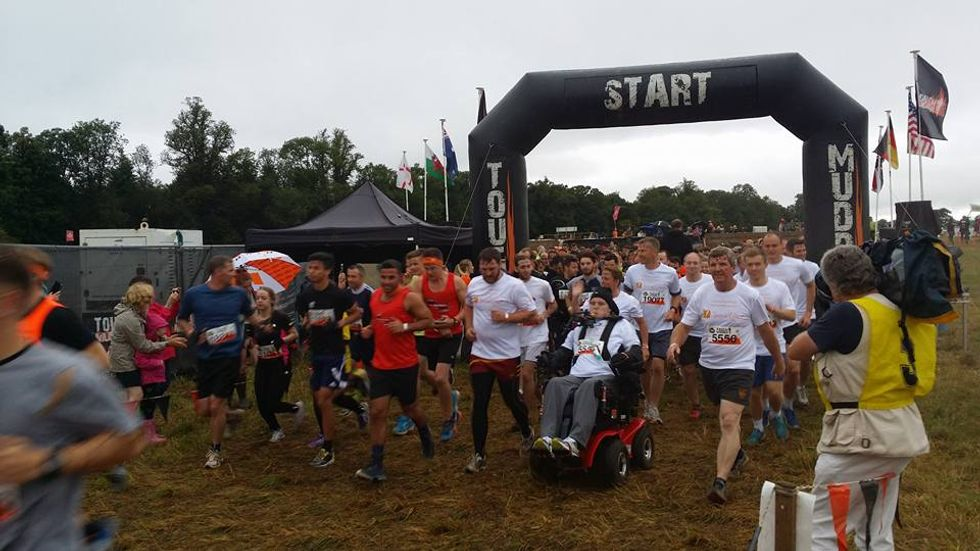 Meet the FirstQuadriplegic Athlete to Take on the 12-Mile 'Tough Mudder' Competition