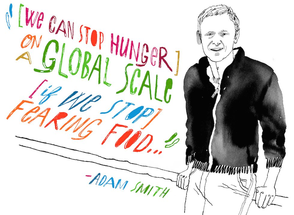 One Man's Plan to End World Hunger By Getting Us to Eat Expired Food