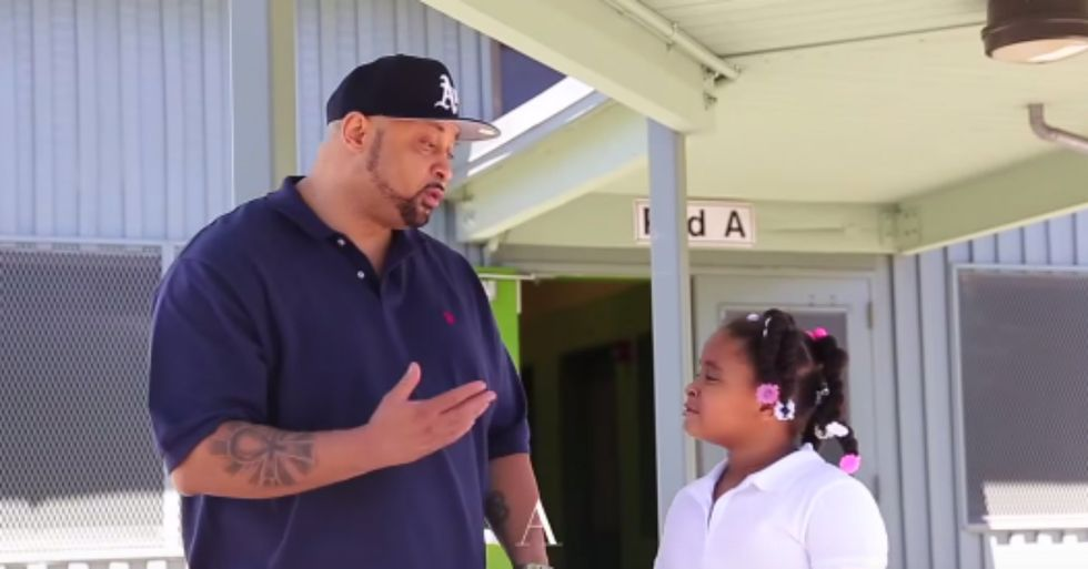 Dad Sings Powerful Anti-Bullying Song to His Daughter