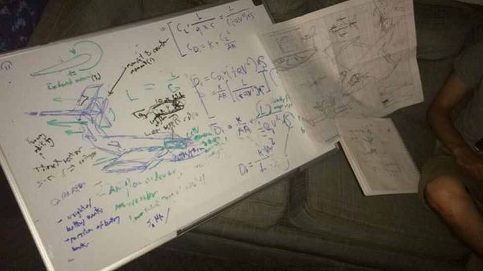 Genius College Kid Gets Drunk, Designs an Entire Airplane, and Can't Remember Any of It