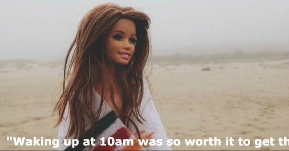 Hipster Barbie Brilliantly Mocks Upper-Crust Millennials