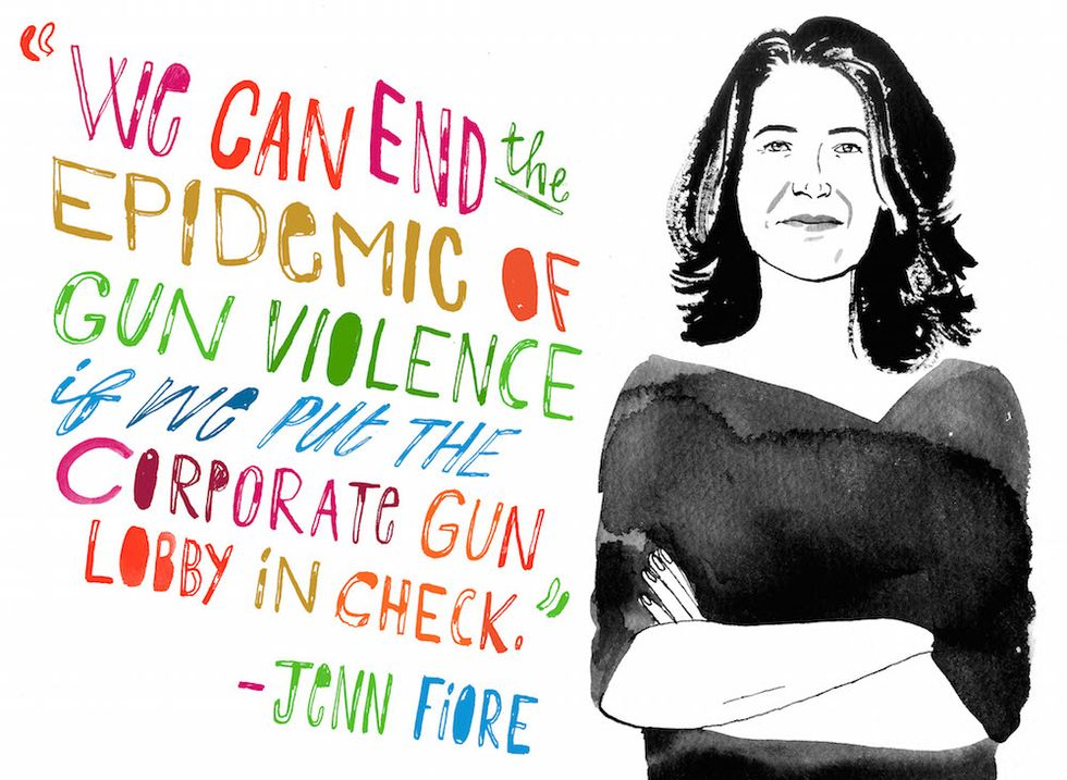 You're Probably Spending Money on the Gun Industry. This Woman Wants to Help You Stop.