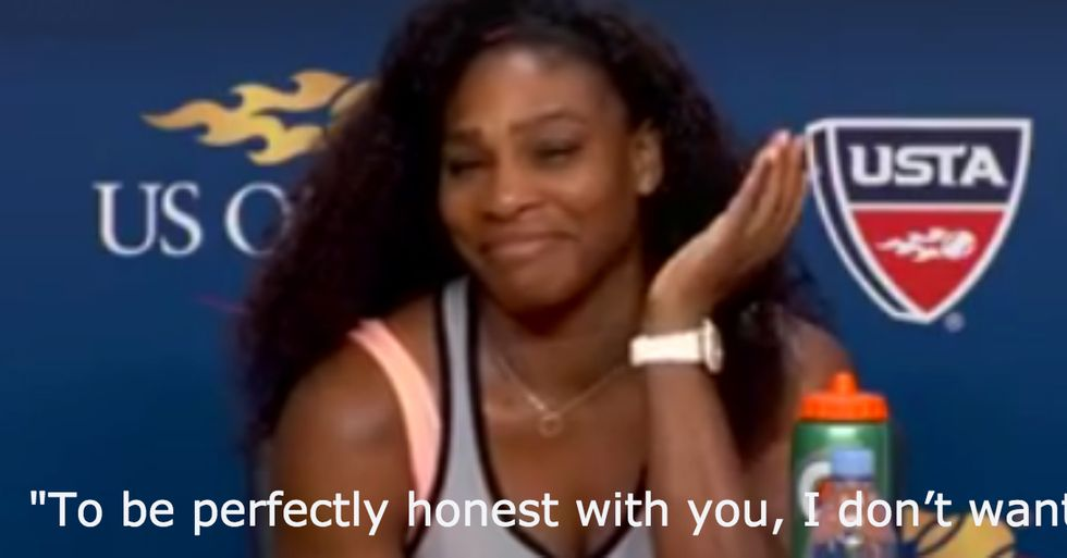 Serena Williams Has the Perfect Answer for Rude Reporter