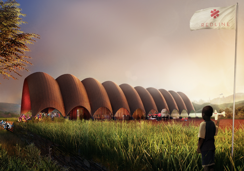 This 'Droneport' Is Designed to Save Lives in Rural Rwanda