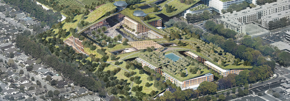 A Struggling California Mall Wants to Build the Largest Green Roof in the World