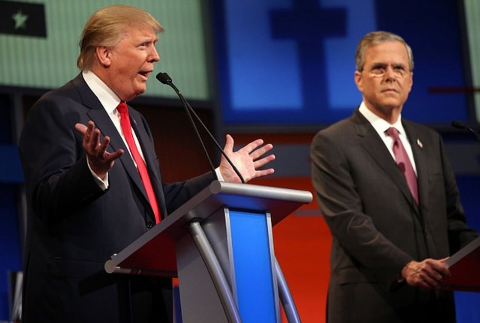 How Donald Trump and Jeb Bush Steal Feminist Language To Hurt Women