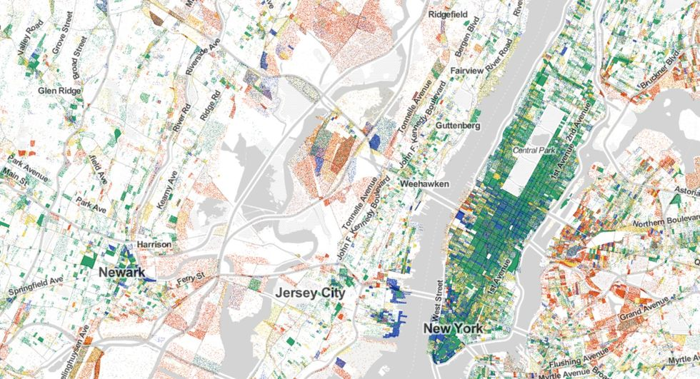 Here's Every Single Job in America, Mapped