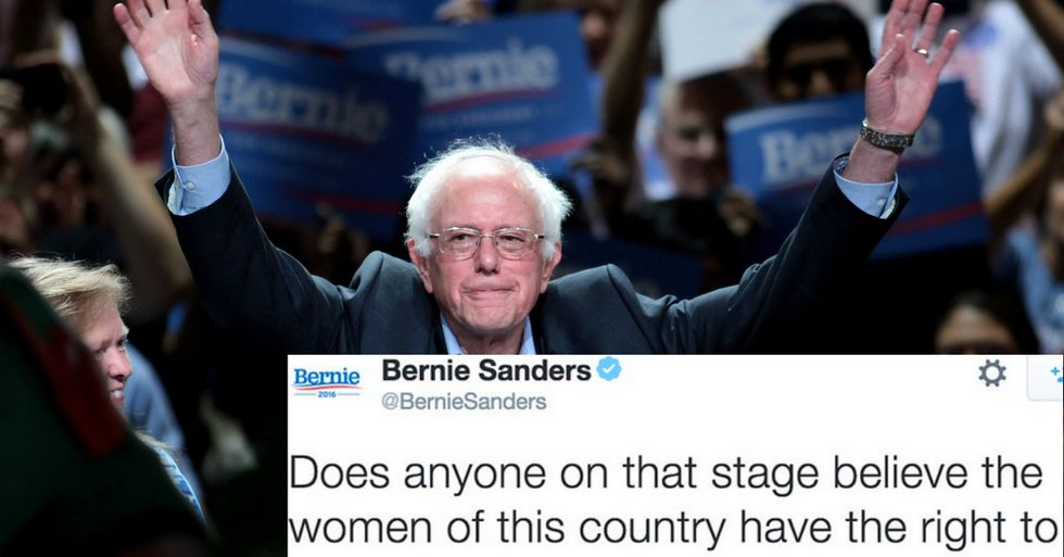 Here's What Bernie Sanders Thought About CNN's GOP Debate