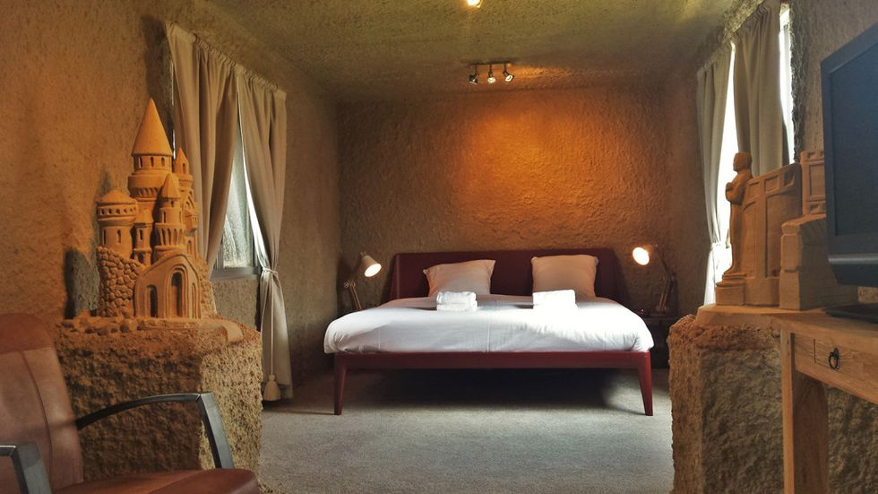 Would You Spend the Night in a Luxury Hotel Made Entirely of Sand?