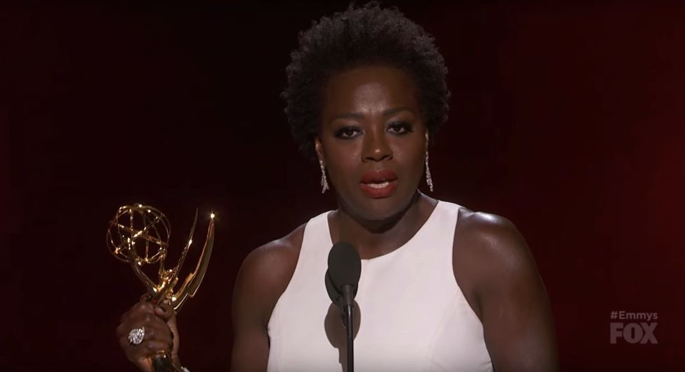 Viola Davis' Righteous Emmy Acceptance Speech is an Indictment of Hollywood