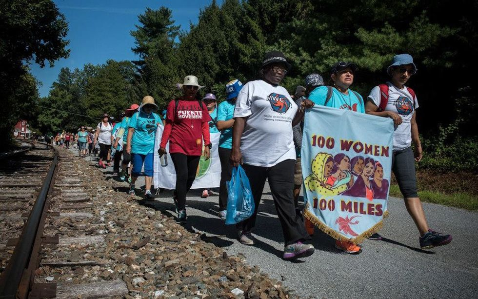 100 Immigrant Women Are Marching 100 Miles to Greet the Pope in D.C