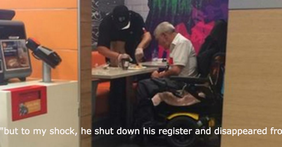 Woman 'Shocked' By How Mcdonald's Employee Reacted to Man In Wheelchair Requesting Help