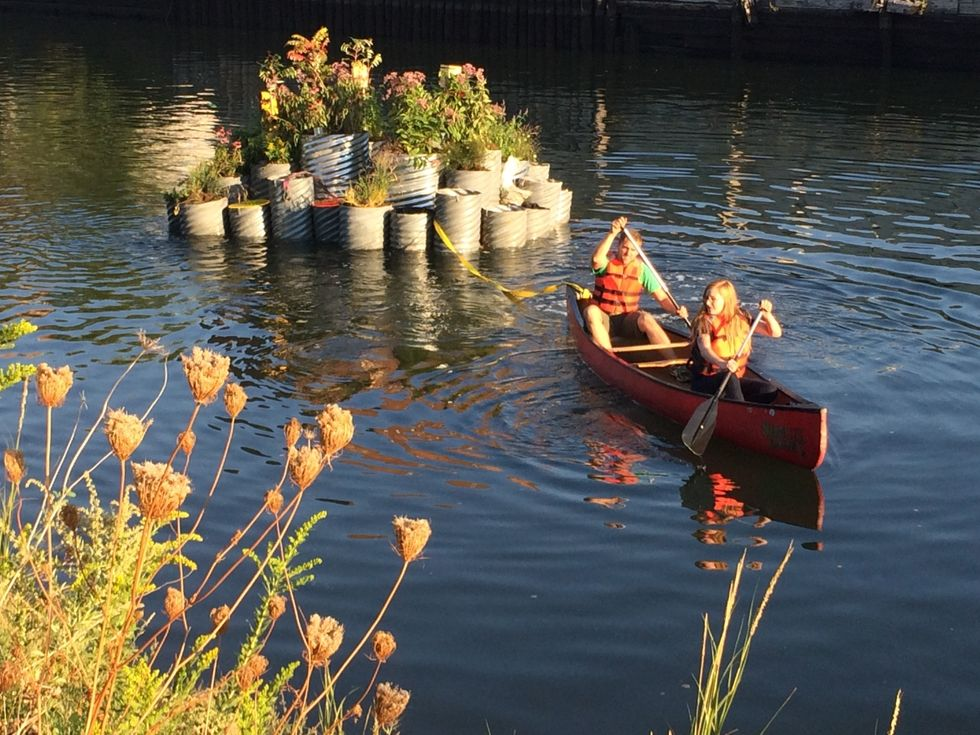 A Floating Garden Blooms On NYC's MostToxic Waterway