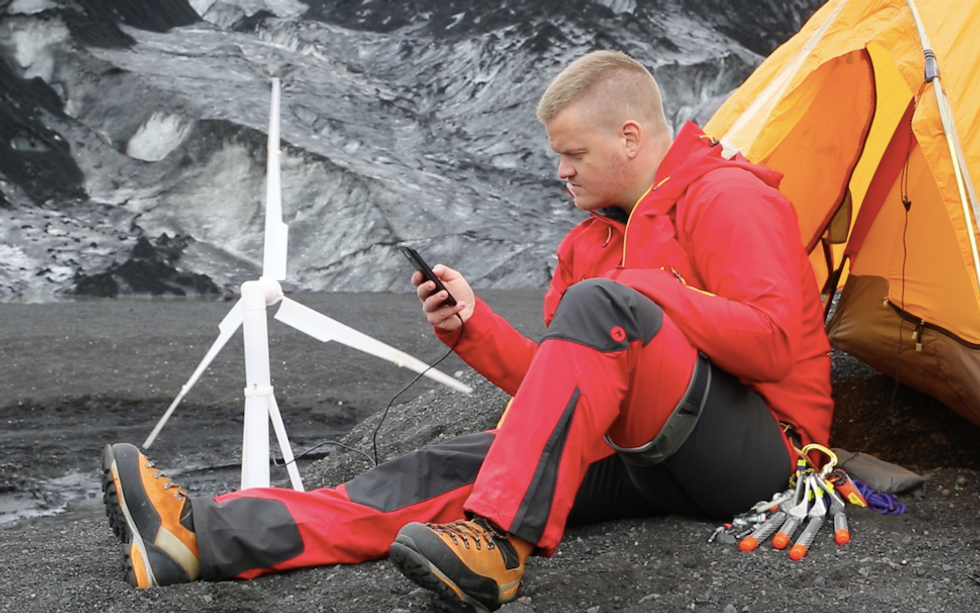 Sidle Up to Your Own Personal Wind Turbine