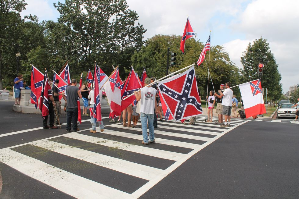 Confederate Flag Supporters Charged With Gang Activity and Making Terroristic Threats