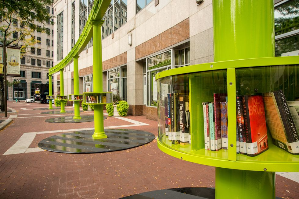 Artist-Designed Miniature Libraries Make Literacy Open, Free, and Beautiful