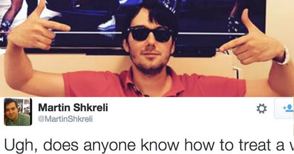 Bernie Sanders Made Price Gouging CEO Martin Shkreli so Angry He Punched a Wall and Fractured His Wrist (or Maybe Not)