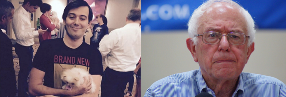This Is What Happened When Drug Baron Martin Shkreli Tried to Donate to the Bernie Sanders Campaign
