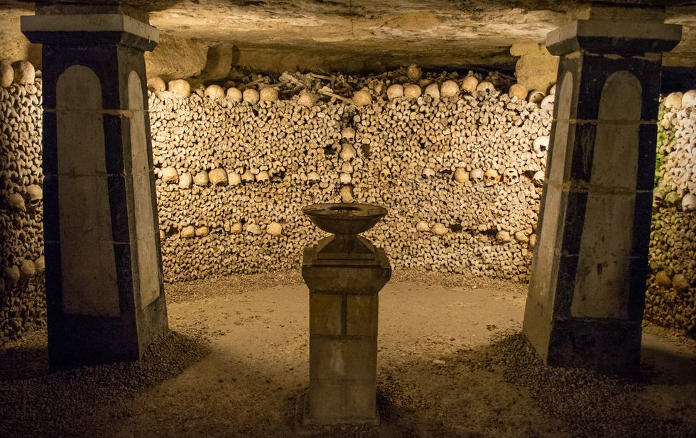 Are You Brave Enough to Spend Halloween Night in the Paris Catacombs?