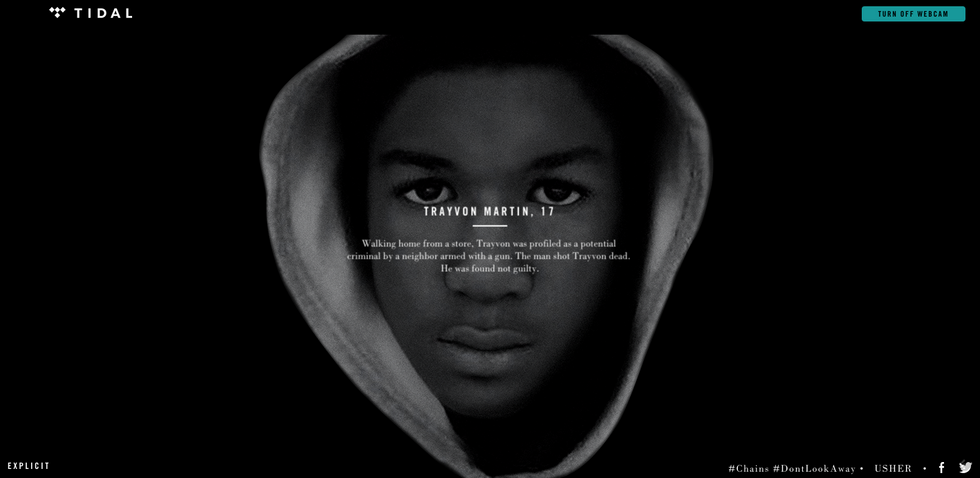 Usher and Nas' New Video Forces You to Look at the Faces of Victims of Police Violence