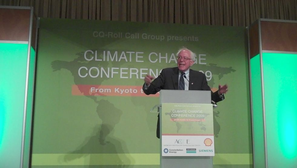 Bernie Sanders Urges Federal Investigation Into Alleged Exxon Climate Research Fraud