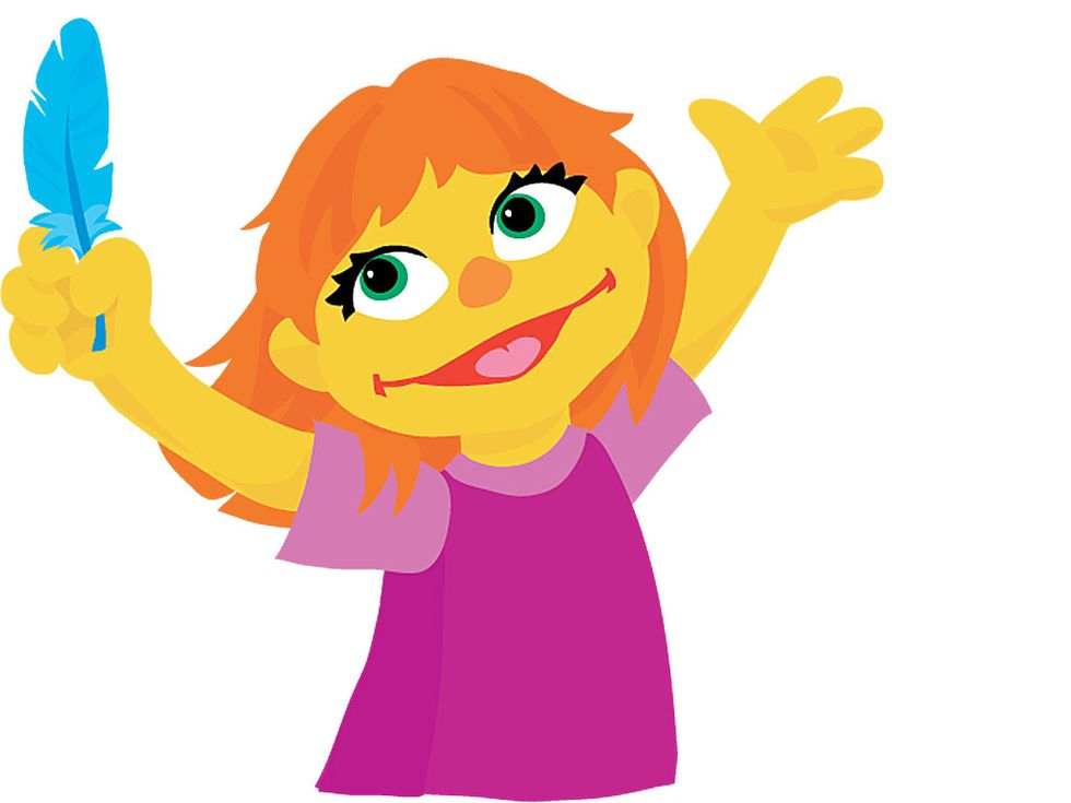 Meet Julia—Sesame Street'sFirst Muppet on the Autism Spectrum