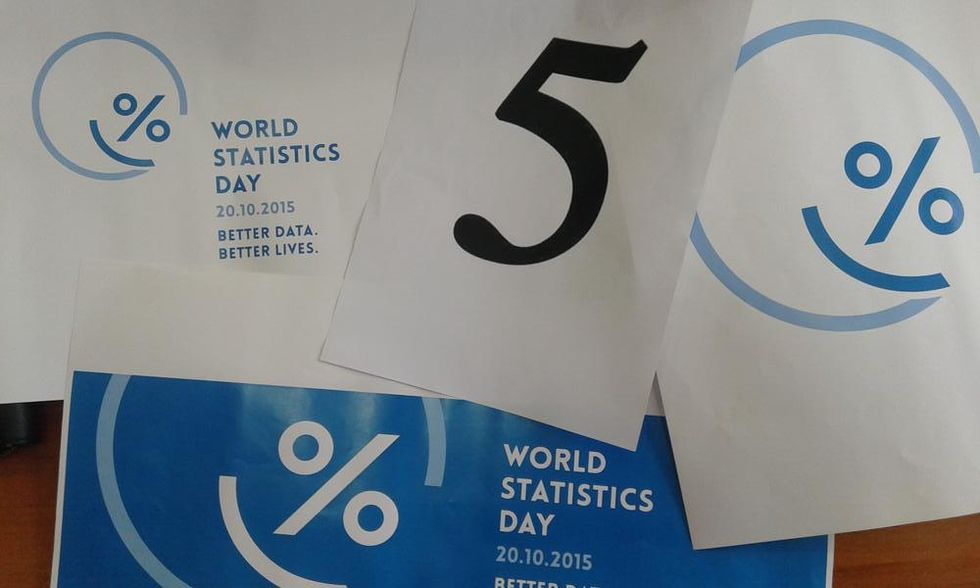 According to the U.N., Celebrating Statistics is 100 Percent Awesome