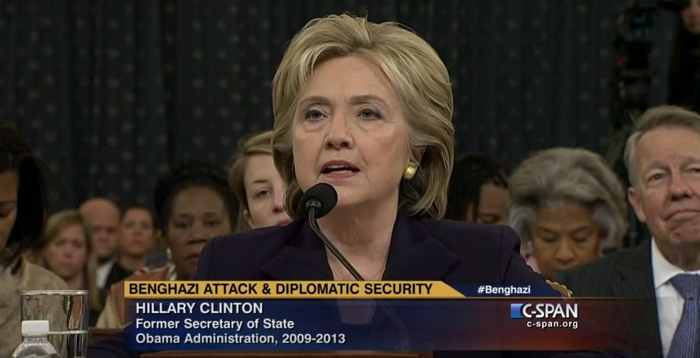 Didn't Catch All 11 Hours of Hillary Clinton's Benghazi Testimony? Here's the Helpful 3-Minute Version