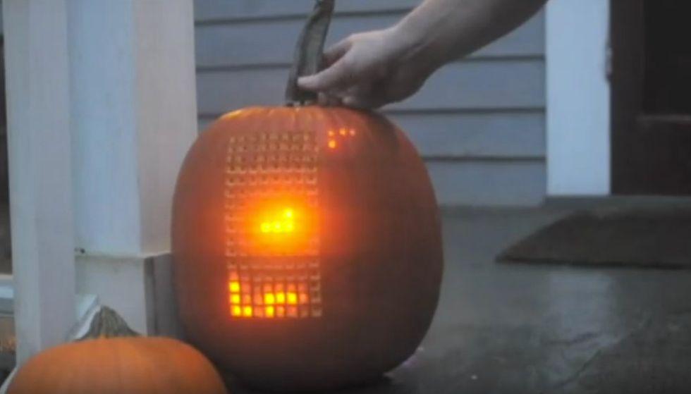 The Tetris Pumpkin Is Still the World's Greatest Gourd Game
