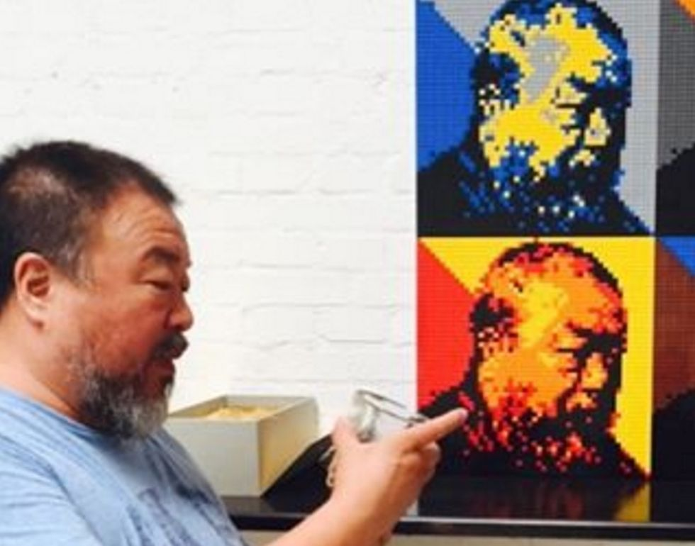 Fans Flood Ai Weiwei With Legos After the Toy Company Refuses His Request for Blocks