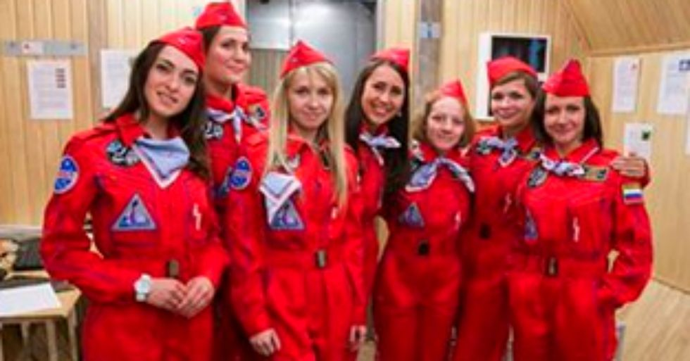 Meet Russia's All-New, All-Female Crew of Experimental Space Scientists